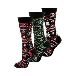 Cufflinks Inc Star Wars Holiday Tacky Sweater 3 Pair Socks Set Multi 32330653