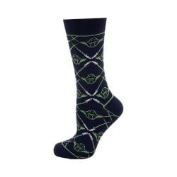 Cufflinks Inc Yoda Navy Lightsaber Socks Blue 32330660