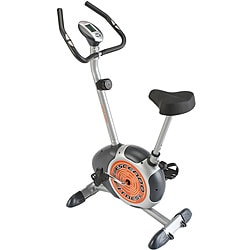 Crescendo Fitness Magnetic Upright Exercise Bike