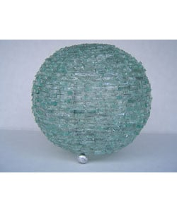 Natural Glass Ball Lamp
