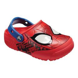 Boys' Crocs Fun Lab Spiderman Lights Clog Kids Flame 33331683