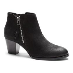 Women's Vionic with Orthaheel Technology Sterling Ankle Boot Black 33381980
