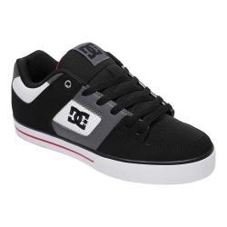Men's DC Shoes Pure Skate Shoe White/Black/Red 33965864