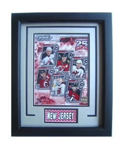 New Jersey Devils 2006-2007 Deluxe Framed Print