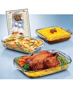 Anchor Hocking Expressions 3-piece Ovenware Set 2932130