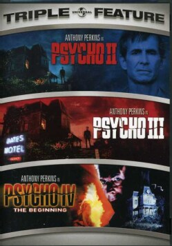 Psycho II/Psycho III/Psycho IV: The Beginning (DVD) 2947439