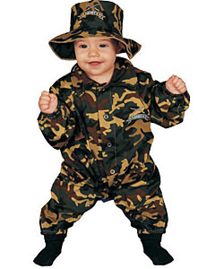 Military Officer Baby Costume