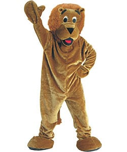 Roaring Lion Mascot Children's Costume 3063245