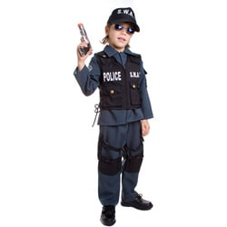 Deluxe Children's S.W.A.T. Police Officer Costume 3087961