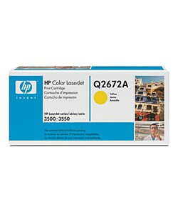 Hp Clj 3500/3550 Yellow Toner