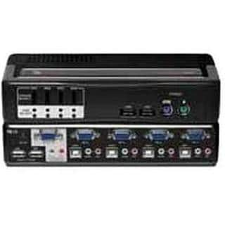 Avocent SwitchView Multimedia 4-Port KVM Switch