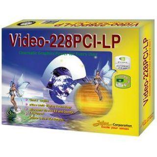 Jaton Video-228PCI-LP Graphics Card Support low profile-Dual VGA-128M