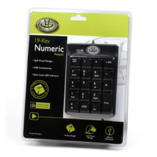 Gear Head KP2200U 19-Key Numeric Keypad