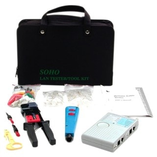 StarTech.com Professional RJ45 Network Installer Tool Kit with Carryi