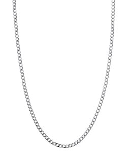 Sterling Essentials Sterling Silver 20-inch Curb Chain (1.7mm)