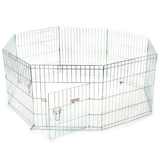 Medium 8-Panel 30-inch Exercise Pen