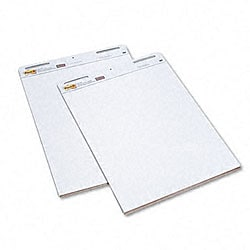 3M Post-it Self-stick 1-inch Grid Easel Pads (Case of 2)