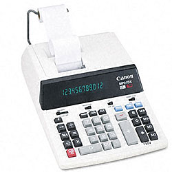 Canon MP21DX 2-Color High-Performance Ribbon Printing Calculator