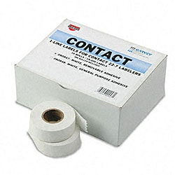 1-Line Pricemarker Removable Labels - 1200/Roll (16-Roll Box)