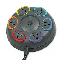 Kensington SmartSocket Six-Outlet Tabletop Surge Protector