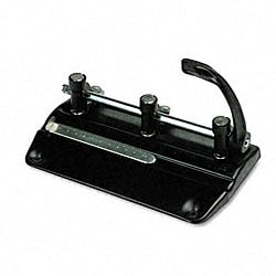 32-Sheet High-Capacity Lever Action Adjustable Hole Punch
