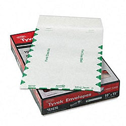 "DuPont Tyvek Catalog/Open End Envelopes (10"" x 15"") - 100 per Box"