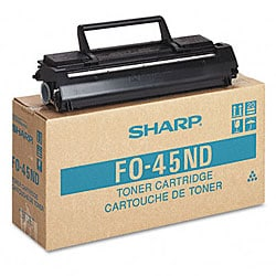 Sharp Toner/Developer for Sharp Fax Models FO4500 -6600
