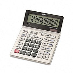 Sharp VX2128V Portable Desktop Handheld Calculator