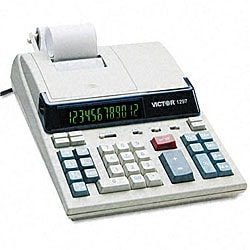 Victor 1297 2-Color Printing Calculator