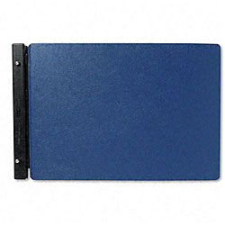 "Raven Blue Vinyl-Guarded Post Binder for 11"" x 17"" Sheets"