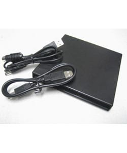 External USB 2.0 Slim Portable Optical Drive Case for Laptops