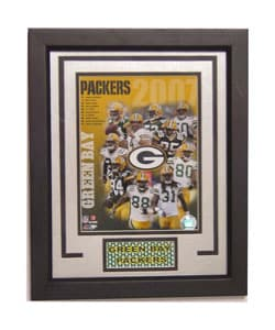 Green Bay Packers 2007 Deluxe Frame