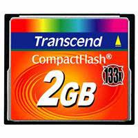 Transcend 2GB 133X Compact Flash Memory Card