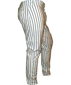 Yankees Kelly Stinnett No. 33 2006 Game Used Home Pants