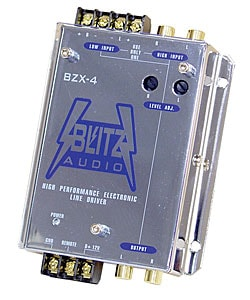 Blitz Electronic Crossover Line Driver Network