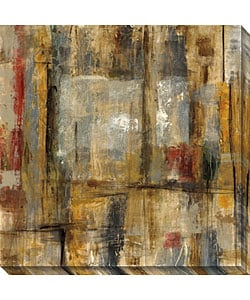 Objective Margin II Gallery Wrapped Canvas Art