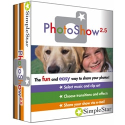 PhotoShow 2.5 PC Software