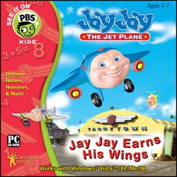 Jay Jay Earns His Wings Software