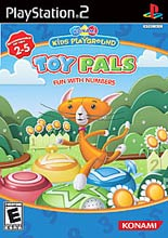 PS2 - Konami Kids Playground: Toy Pals Fun with Numbers (Pre-Played)