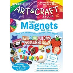 Green Street Arts-n-Crafts Fridge Magnets Kit