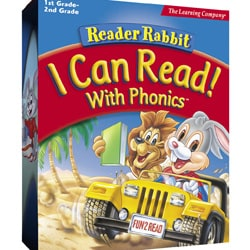 Reader Rabbit 'I Can Read with Phonics' PC Software
