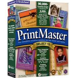 PrintMaster 12 Software