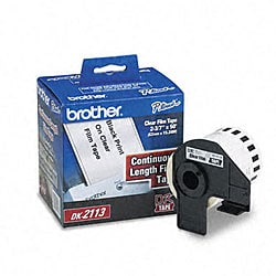 Brother Labelmaker Continuous Clear Film Labels (50-foot Roll)