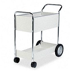 Fellowes Steel Mail Cart - 150 Folder Capacity