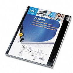 Binding Machine Accents Polypropylene Covers (Pack