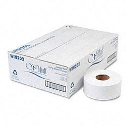 Jumbo Roll Two-ply Toilet Tissue - (12 Rolls/ Carton)