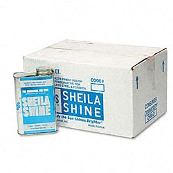 Sheila Shine Stainless Steel Cleaner & Polish - 12/Carton