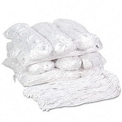 Premium Cut-end Wet Mop Heads (Case of 12)