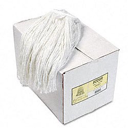 Premium Cut-End Wet Mop Heads - 12/Carton