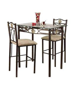 glass top dinette sets